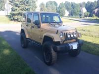 Fully Loaded Jeep Wrangler Sahara Unlimited with 3""
