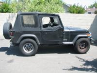 1994 YJ jeep wrangler soft top and or frame doors