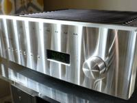 Wonderful Jeff Rowland Continuum S2 amp with built in