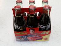 Collectable 6 pack of 8 oz bottles of Coca-Cola. These