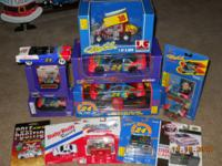 I have a collection of Jeff Gordon cars, they are all
