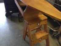 The Jefferson Chair is a mix action stool, ladder and