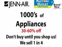Buy from your Local Jenn-Air Appliance Dealer Appliance