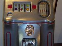 MILLS and jennings ANTIQUE SLOT MACHINES FOR SALE. SOME
