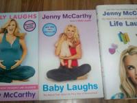 3 Jenny McCarthy Books  Belly Laughs Baby Laughs Life