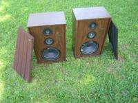 Two Jensen speaker box for sale. The boxses themselves