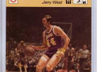 Jerry West 1977 Sportcaster Mr Clutch #810 There will
