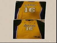 Pau Gasol Lakers #16 Jersey $30Shannon Brown Lakers #12