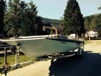 JET BOAT: 1986 Comma Runabout, 20' with Trailer, Motor
