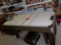 Air Hockey Table in great working condition! Measures