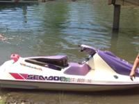 1998 seadoo with trailer. New tires on trailer.