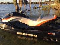 Seadoo GTI SE 130, 2014 very low miles excellent