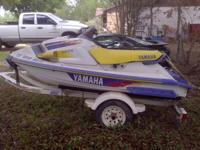 I have a 1995 Yamaha Waive Raider for sail with a