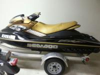 2006 Seadoo RXP. Adult owned. Garage kept. less than 65