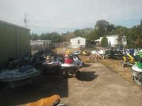 WE HAVE MANY USED JET SKI PARTS IN STOCK. WE CURRENTLY