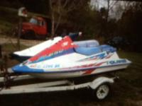 I have 2 jet skis one is a Polaris 650 the other is a