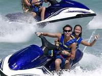 We have lots of jet skis for rental fee at really