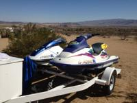 I have four jet ski's for sale. there are 2 sit down