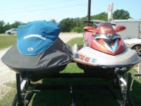 TWO Jet skis a 2005 SEA DOO BRP RXT 4-TEC SUPERCHARGED