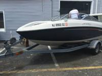 SAND MIRAGE 18 ft 6 CYLINDER MERCURY ENGIN 200hp ONLY