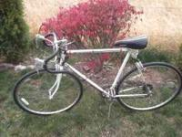1970s jeunet bike with reynolds 531 tubing, 12 speed