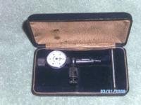 I HAVE A VINTAGE BEM, JEWEL DIAL INDICATOR. ON TOP OF