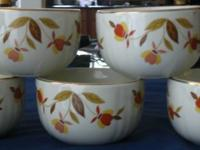 "One big and one small Jewel Tea ""Autum Leaf"" bowl."