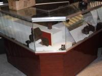 Jeweler jewelry store furniture showcases and tools,