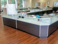 Jewelry Display Cases / Cabinets Less than a year and a