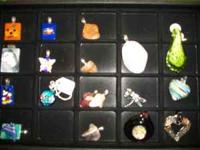 Lots of really neat hand made jewelry at the harristown