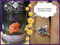 I am an Independent Expert with Jewelry in Candles. My