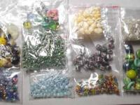 I have lots of DIFFERENT KINDS & & bundles of. beads,