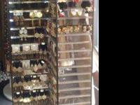 Jewelry rack for sale...............$100 Wide variety