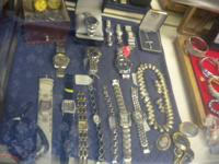 We have Lockets, bracelets, rings, Wallets, and mens