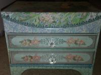 Jewelry Box (new) This box has rarely been used. Just