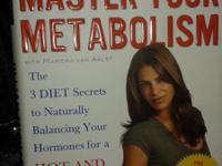 MASTER YOUR METABOLISM BOOK BY JILLIAN MICHAELS.
