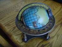 This is a vintage 1980 Jim Beam Globe Zodiac Whiskey