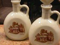 Jim Beam Whiskey Decanters -- Sold separate  Get there