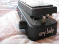 This is a barely utilized Jimi Hendrix CryBaby Wah