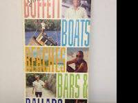 Jimmy Buffet Boats Beaches Bars & Ballads 4 Cd Box Set