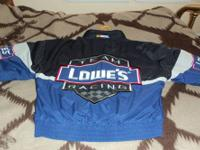 THE LOWES COLOR BLUE- SILVER-BLACK. HENDRICK