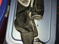 Very nice sling diaper bag /carrier made by JJ Cole,