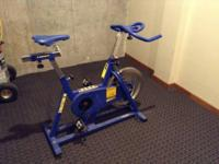 USED INDOOR CYCLING STATIONARY BIKE. WORKING CONDITION.