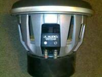 i have a jl audio 12w7 sub, it is in perfect condition