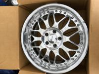 Jline SDMSL2 wheels in great condition. No pitting,