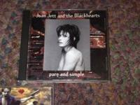 Joan Jett and the Blackhearts - Pure and Simple CD $5