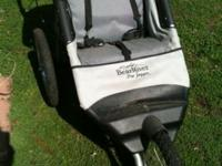 Bear river pro single jogger stroller like new call or