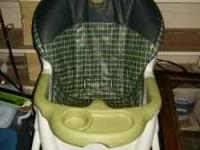 i have a Joggin stroller for $60 obo, graco high chair