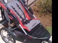 Baby Trend jogging stroller. Used maybe 5 times. Like