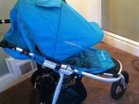 Jogging Stroller~ Bumbleride Indie (Aqua) Lightly used.
